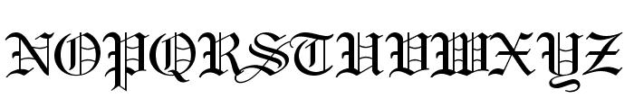 Holy Union Font UPPERCASE