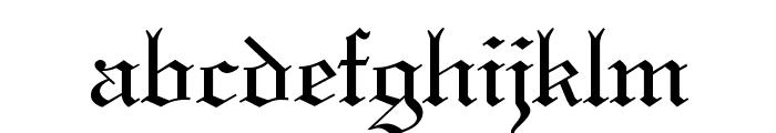 Holy Union Font LOWERCASE