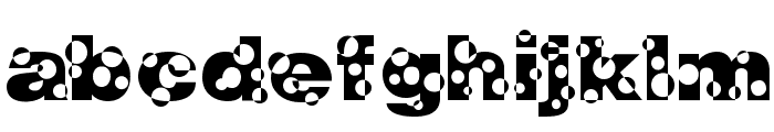 HolyMoly Normal Font LOWERCASE