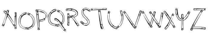 HolySmokes-Regular Font UPPERCASE