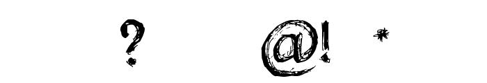 Holyrose Sale Font OTHER CHARS