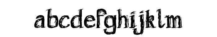 Holyrose Sale Font LOWERCASE