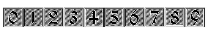 Holzschnitt-Initialen Font OTHER CHARS