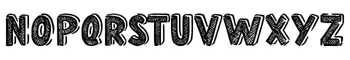 Home School Font UPPERCASE