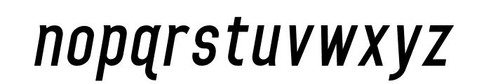 HomePlanetBB-BoldItalic Font LOWERCASE