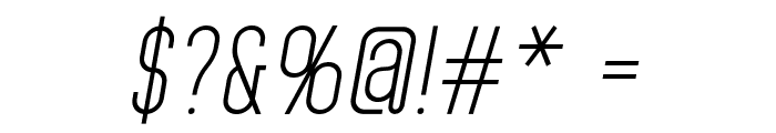 HomePlanetBB-Italic Font OTHER CHARS