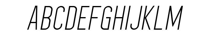 HomePlanetBB-Italic Font UPPERCASE