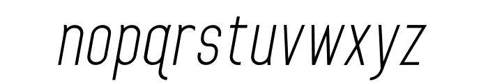 HomePlanetBB-Italic Font LOWERCASE