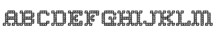 HomeSweetHomeOutline-Regular Font LOWERCASE