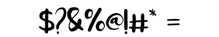 Homegarden Sans Font OTHER CHARS