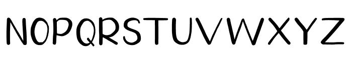 Homegarden Sans Font UPPERCASE