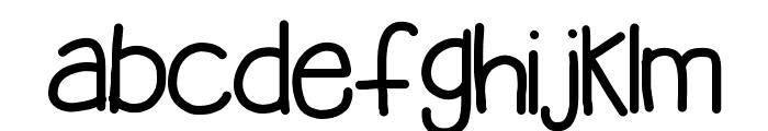HomegirlBelieves Font LOWERCASE