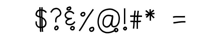 HomegirlCakePoppin Font OTHER CHARS