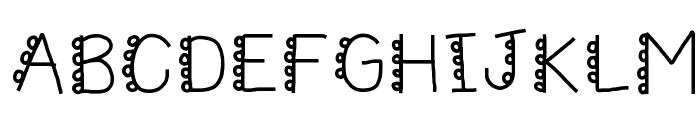 HomegirlCakePoppin Font UPPERCASE