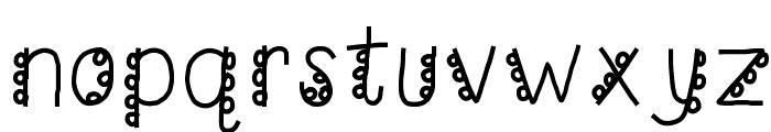 HomegirlCakePoppin Font LOWERCASE