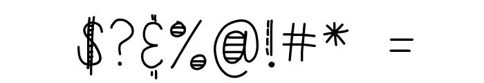 HomegirlFiesta Font OTHER CHARS