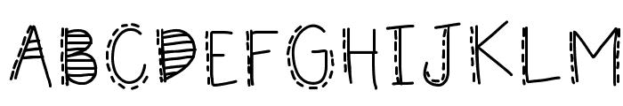 HomegirlFiesta Font UPPERCASE