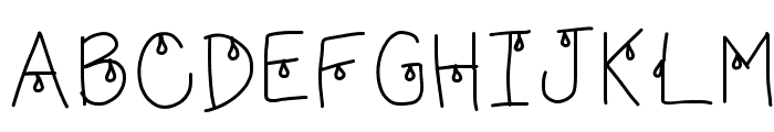 HomegirlFoolToCry Font UPPERCASE