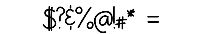 HomegirlGetLow Font OTHER CHARS