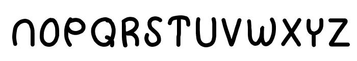 HomegirlHugItOut Font LOWERCASE