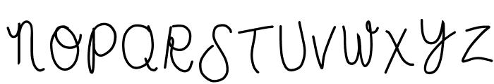 HomegirlJessa Font UPPERCASE
