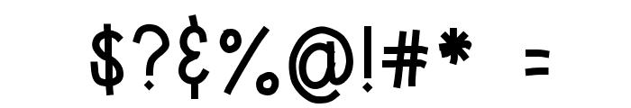 HomegirlKiddo Font OTHER CHARS