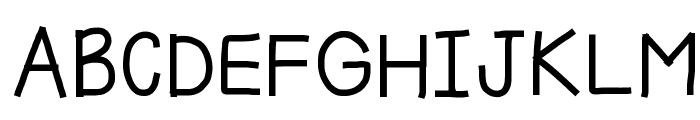 HomegirlKiddo Font UPPERCASE