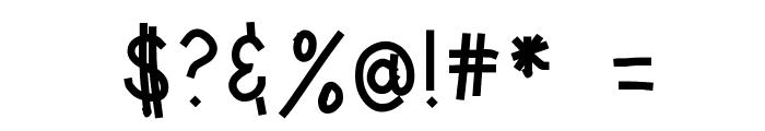 HomegirlLeveledReader Font OTHER CHARS