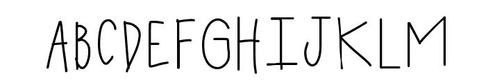 HomegirlMarnie Font UPPERCASE