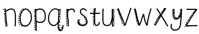 HomegirlMosquito Font LOWERCASE