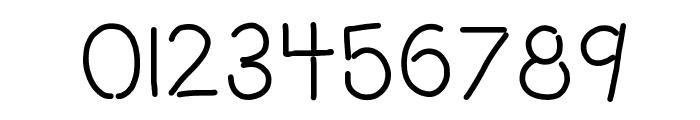 HomegirlOpenMinded Font OTHER CHARS