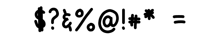 HomegirlSchooled Font OTHER CHARS