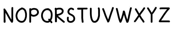 HomegirlSchooled Font UPPERCASE