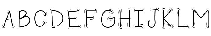 HomegirlSecure Font UPPERCASE
