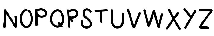 HomegirlUnfinished Font UPPERCASE