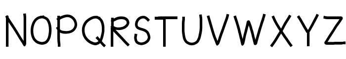 HomegirlWroteIt Font UPPERCASE