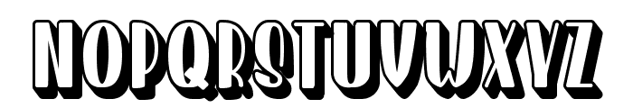 Homenuli Shadow Font UPPERCASE
