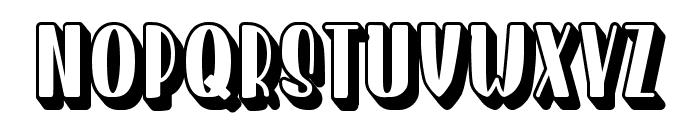 Homenuli Shadow Font LOWERCASE