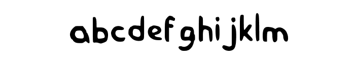 Homer Simpson Medium Font LOWERCASE