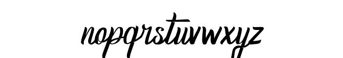 Homerun Regular Font LOWERCASE