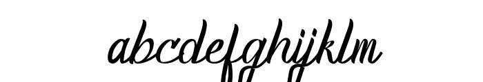 HomerunRegular Font LOWERCASE