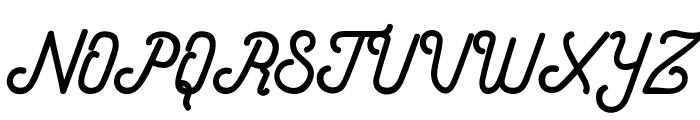 HometownScriptFree Font UPPERCASE