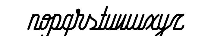 HometownScriptFree Font LOWERCASE