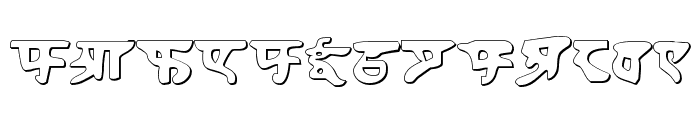 Homeworld Shadow Font LOWERCASE