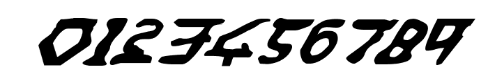 Homeworld Translator Italic Font OTHER CHARS