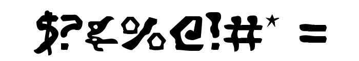 Homeworld Translator Font OTHER CHARS