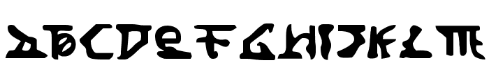 Homeworld Translator Font LOWERCASE