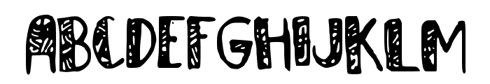 Homewrecker Font UPPERCASE