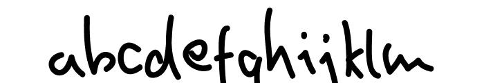 Homin Fun Font LOWERCASE