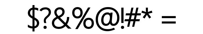 Homizio Medium Font OTHER CHARS